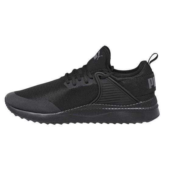 9ddaba67f76 Puma Pacer Next Cage Mens Casual Shoes Black   Black US 8