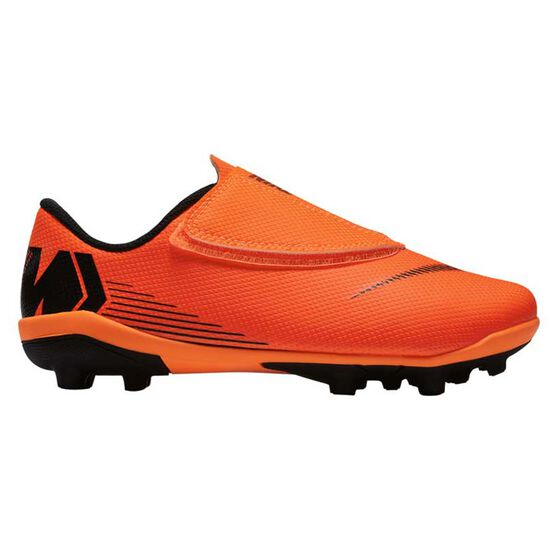c1c780d8b Nike Mercurial Vapor 12 Club MG Junior Football Boots Orange / White US 13  Junior,