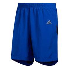 adidas Mens Own the Run 7in Running Shorts, Blue, rebel_hi-res