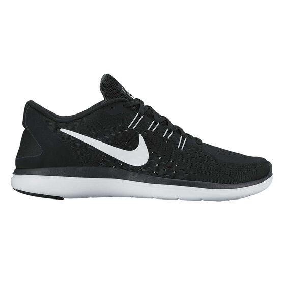 quality design 61370 541d5 Nike Flex 2017 RN Womens Running Shoes Black   White US 8.5, Black   White