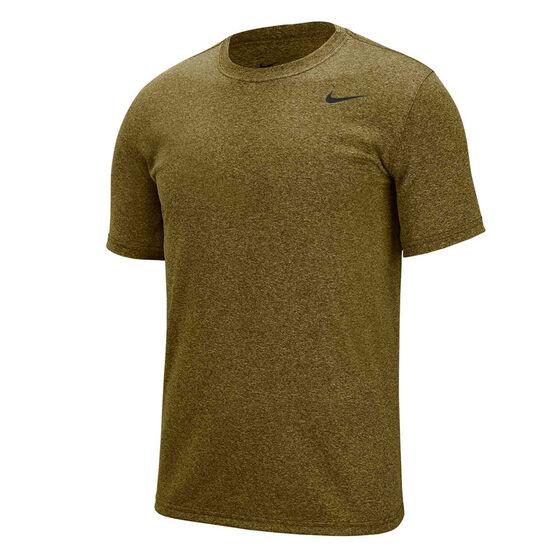 Nike Mens Dri-FIT Legend 2.0 Tee Olive S, Olive, rebel_hi-res