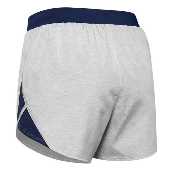 Under Armour Womens Fly-By 2.0 Shorts, Navy, rebel_hi-res
