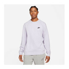 Nike Mens Sportswear Crew Purple XS, , rebel_hi-res