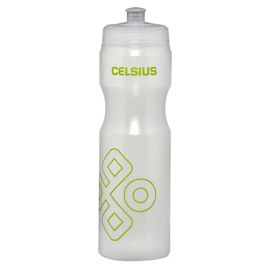 Celsius Squeeze 800ml Water Bottle Clear, Clear, rebel_hi-res