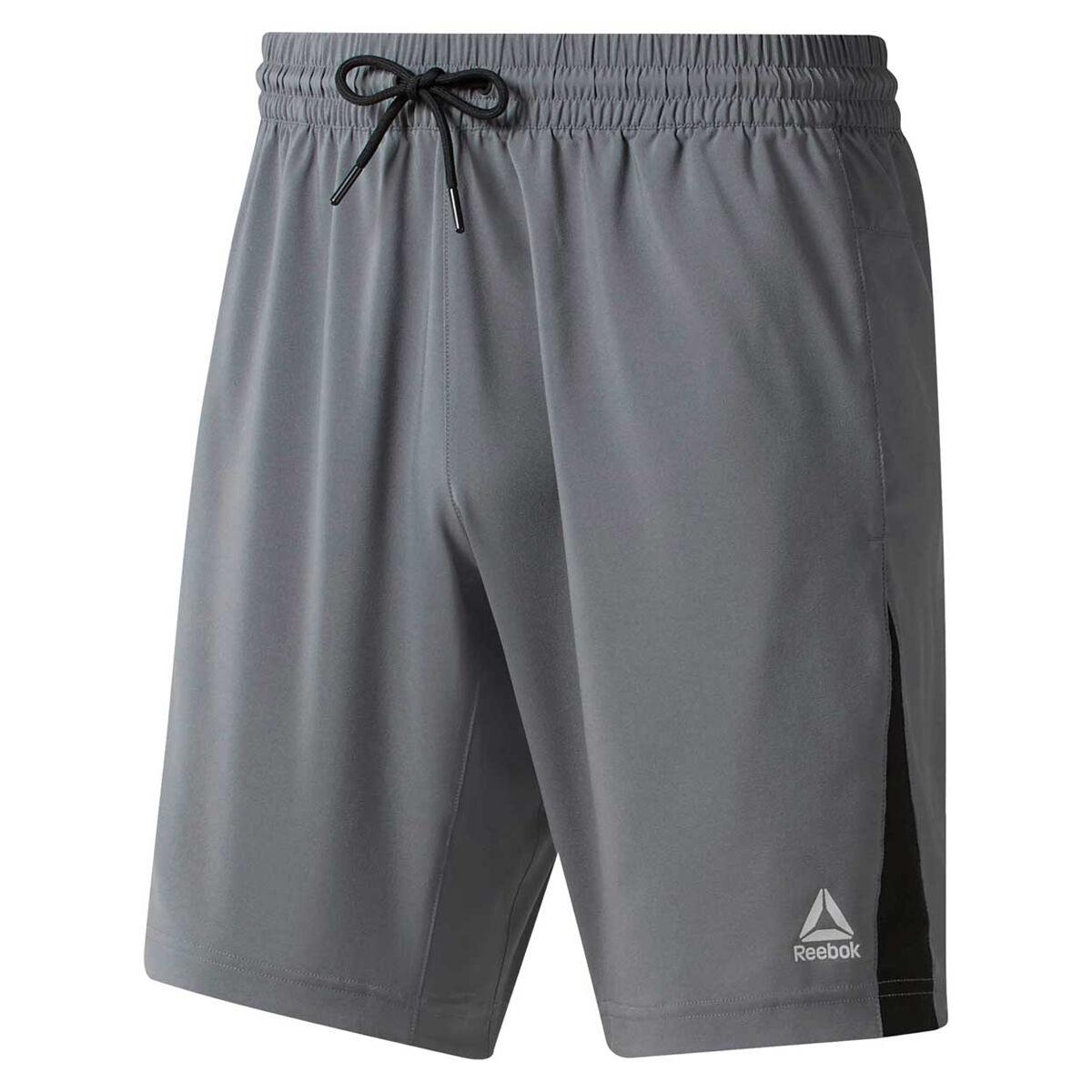 Reebok Mens Elements Woven Shorts Grey S