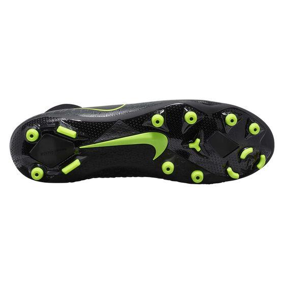 Nike Phantom Vision Academy Dynamic Fit Football Boots, Black / Yellow, rebel_hi-res