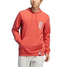 adidas Mens Post Game Light Hoodie Red S, Red, rebel_hi-res