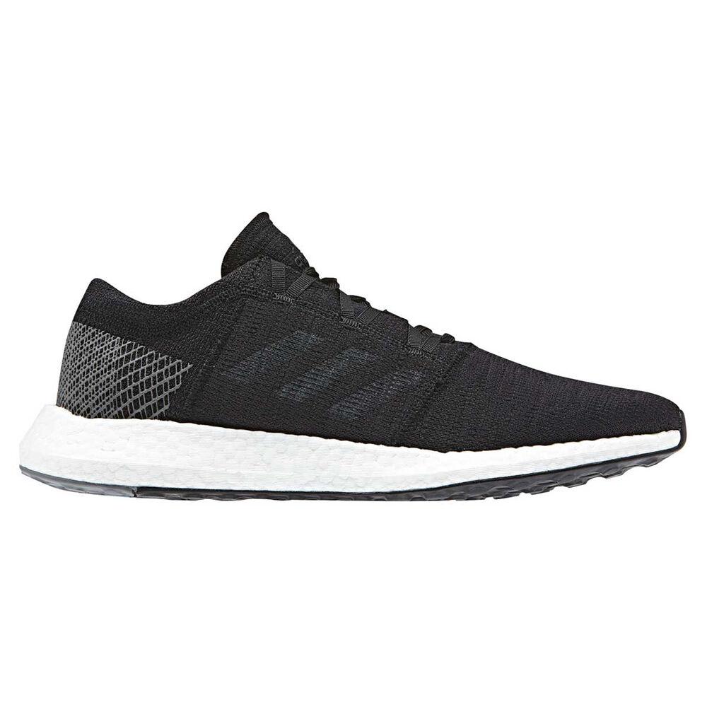 info for b78c9 af3e6 adidas Pureboost GO Mens Running Shoes, Black   Grey, rebel hi-res