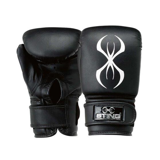 Sting Armafit Bag Boxing Mitt, Black, rebel_hi-res