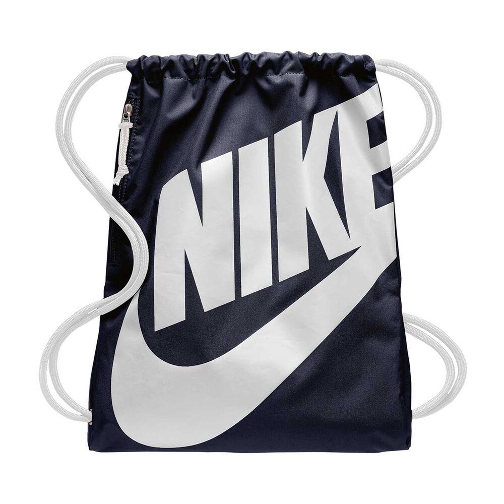 b81dfa0dc1dd Nike Heritage Gym Sack Obsidian