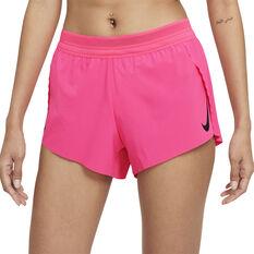 Nike Womens Dri-FIT AeroSwift Running Tights Pink XS, Pink, rebel_hi-res
