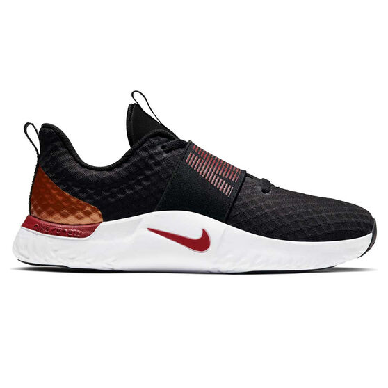 Nike Renew In-Season TR 9 Womens Training Shoes Black / Red US 6, Black / Red, rebel_hi-res