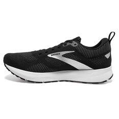 Brooks Revel 5 Womens Running Shoes Black/White US 6.5, Black/White, rebel_hi-res