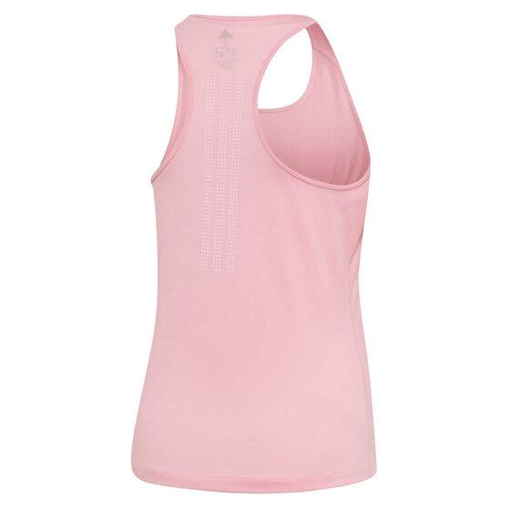 adidas Womens Prime 3 Stripes Tank, Pink, rebel_hi-res