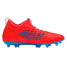 Puma Future 19.3 Netfit Mens Football Boots Red / Blue US Mens 7 / Womens 8.5, Red / Blue, rebel_hi-res