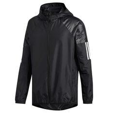 adidas Mens Sport 2 Street Windrunner Jacket Black S, Black, rebel_hi-res