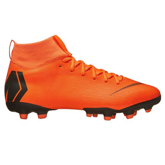 4a16dd3d5e16 Nike Mercurial Superfly 6 Academy MG Kids Football Boots Orange   White US  1 Junior