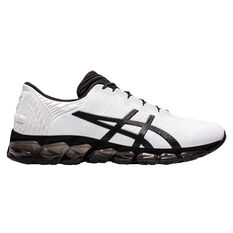 Asics GEL Quantum 360 5 Jacquard Mens Running Shoes White/Black US 8, , rebel_hi-res