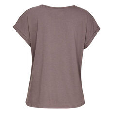 Under Armour Womens Sportstyle Graphic Tee, Grey, rebel_hi-res