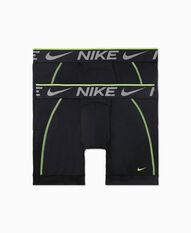 Nike Mens Breathe Micro Boxer Brief, Black, rebel_hi-res
