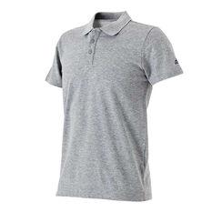 adidas Mens Essentials Basic Polo Shirt Grey S Adult, Grey, rebel_hi-res