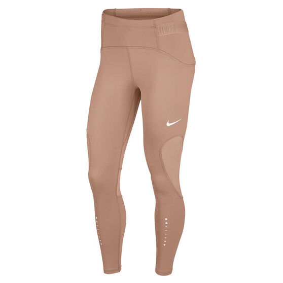 Nike Womens Speed Icon Clash 7/8 Running Tights, Pink, rebel_hi-res