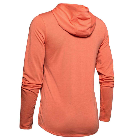 Under Armour Womens UA Streaker 2.0 Hoodie, Coral, rebel_hi-res