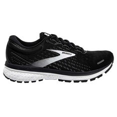Brooks Ghost 13 D Womens Running Shoes Black/White US 6, , rebel_hi-res