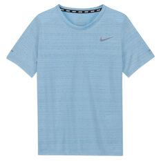 Nike Boys Dri Fit Miler Tee Blue XS, Blue, rebel_hi-res