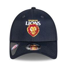 Brisbane Lions 2021 New Era 9FORTY Media Cap, , rebel_hi-res