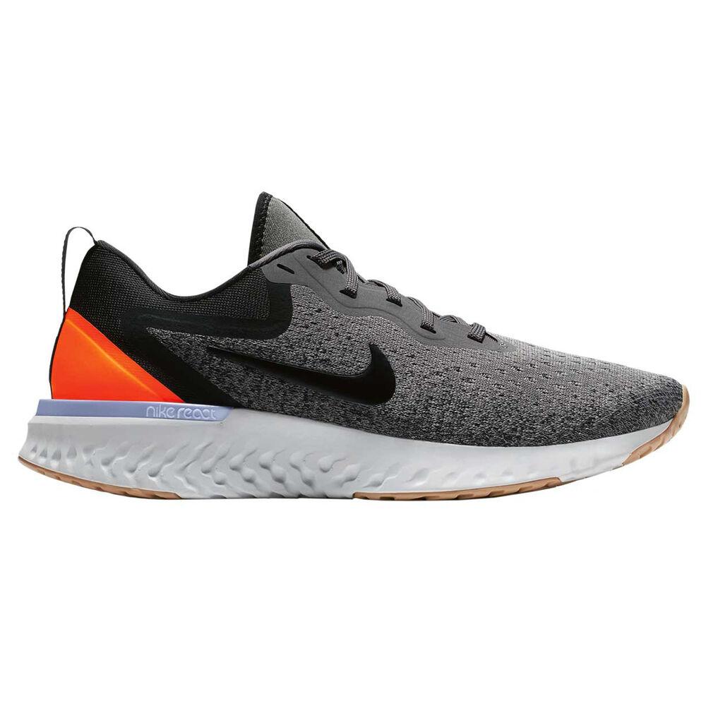 7070cc8b5438 Nike Odyssey React Womens Running Shoes Grey   Black US 10