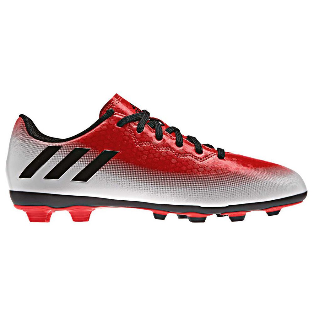on sale f9c7c a1ac0 adidas Messi 16.4 FXG Junior Football Boots Red  Black US 1 Junior, Red