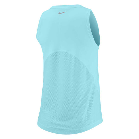 Nike Womens Miler Running Tank, Blue, rebel_hi-res