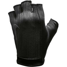 Nike Womens Studio Gloves Black S, Black, rebel_hi-res
