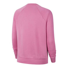 Nike Womens Sportswear Essentials Fleece Sweatshirt Pink XS, Pink, rebel_hi-res