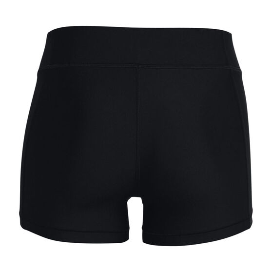 Under Armour Womens HeatGear Armour Shorty Shorts, , rebel_hi-res