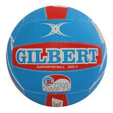 Gilbert Champs Swift Support Netball 5, , rebel_hi-res
