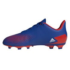adidas Predator 20.4 FXJ Kids Football Boots Blue/White US 11, Blue/White, rebel_hi-res
