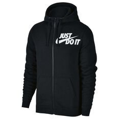 Nike Mens Sportswear Hoodie Black S adult, Black, rebel_hi-res