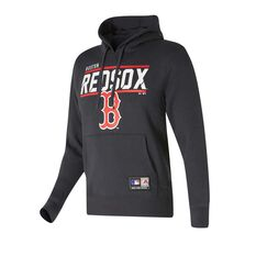 Boston Red Sox Flex Team Hoodie Black S, Black, rebel_hi-res