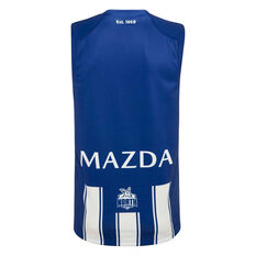 North Melbourne Kangaroos 2020 Mens Home Guernsey Blue/White S, Blue/White, rebel_hi-res
