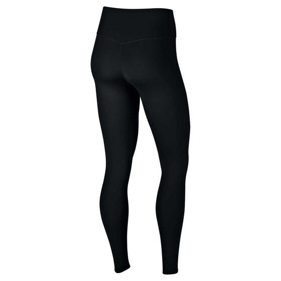 Nike Womens One Luxe Tights Black XL, Black, rebel_hi-res