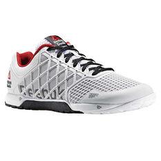 Reebok CrossFit Nano 4.0 Mens CrossFit Shoes White / White US 7, White / White, rebel_hi-res