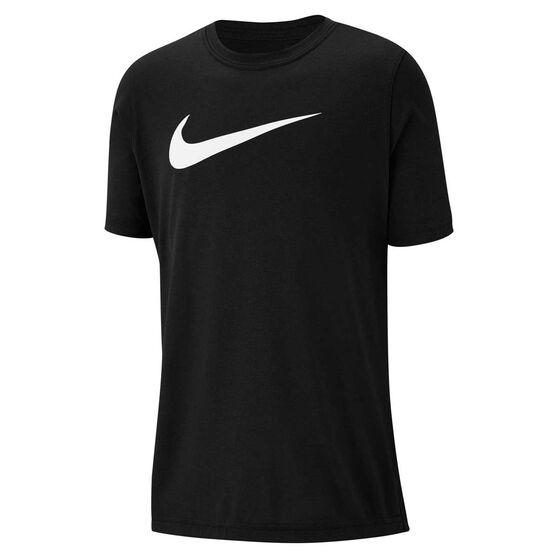 Nike Boys Dry Legend Swoosh Tee Black XL, , rebel_hi-res
