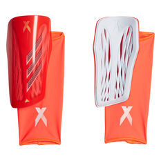 adidas X League Shin Guards Red S, Red, rebel_hi-res