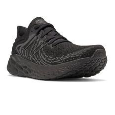 New Balance 1080v11 Mens Running Shoes Black US 11, Black, rebel_hi-res