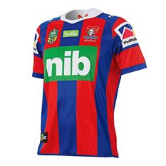 Newcastle Knights 2018 Mens Home Jersey, , rebel_hi-res