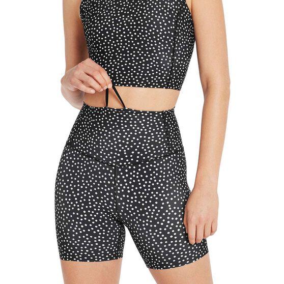 Nimble Womens Zoom Bike Shorts, Black, rebel_hi-res
