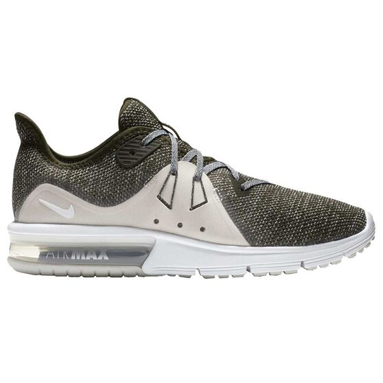 big sale ce81b 7daf1 Nike Air Max Sequent 3 Womens Running Shoes, Khaki   White, rebel hi-res