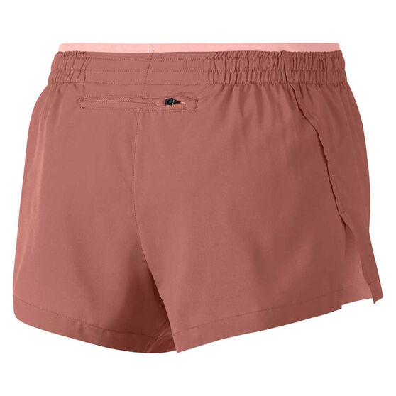Nike Womens Elevate 3 Inch Running Shorts Pink XL, Pink, rebel_hi-res